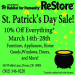 St Patricks Day Sale Facebook